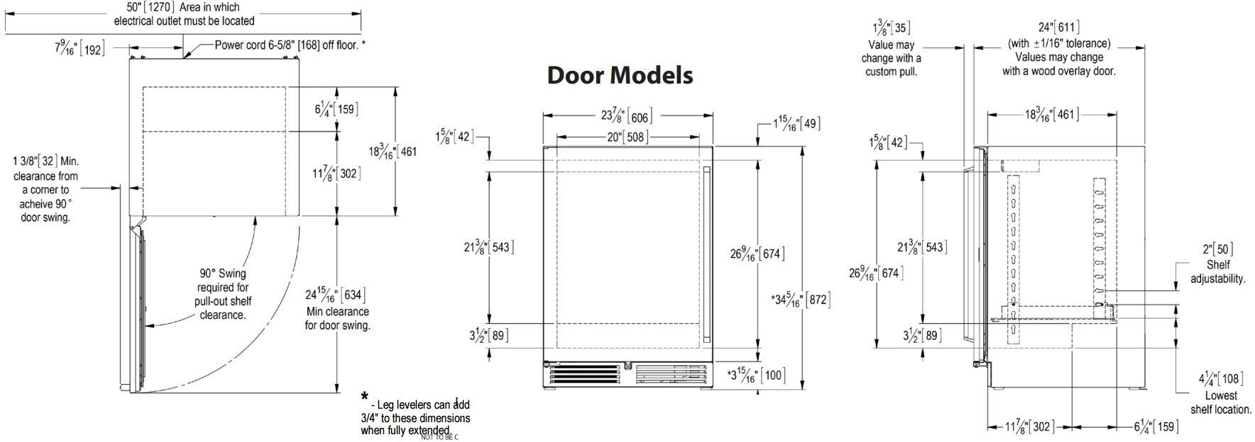 Perlick Hp24rs33lc 24 Inch Signature Series Stainless Steel Compact Wiring Diagram Dimenions Guide