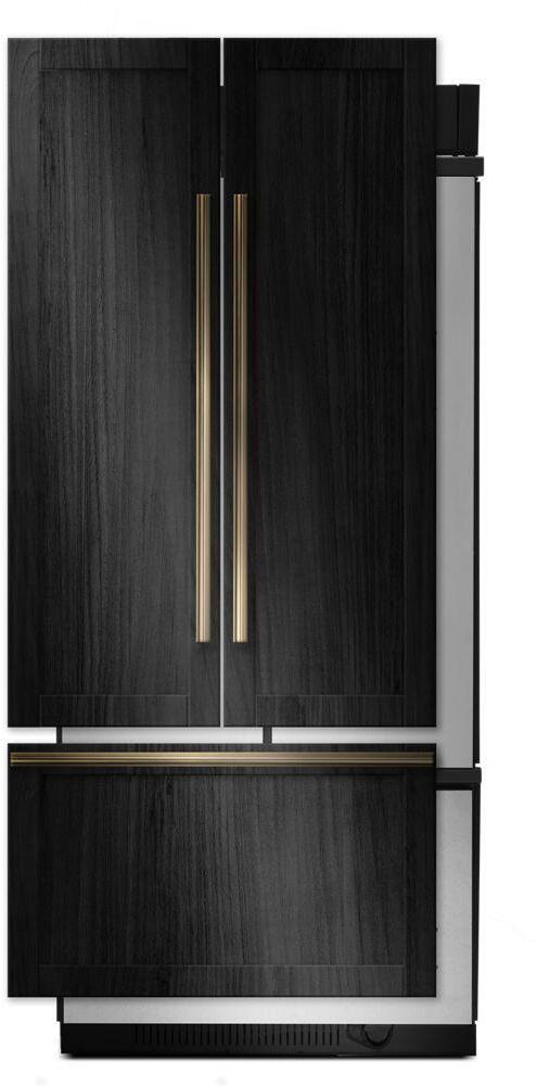 Jenn Air Jf36nxfxde 36 Inch Fully Integrated Built In French Door Refrigerator