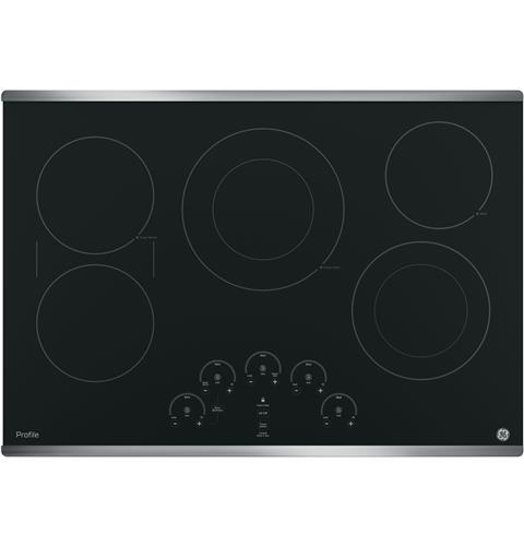 Ge Appliance Warranty >> GE Profile PP9030SJSS 30 Inch Stainless Steel 5 Element Electric Cooktop | Appliances Connection