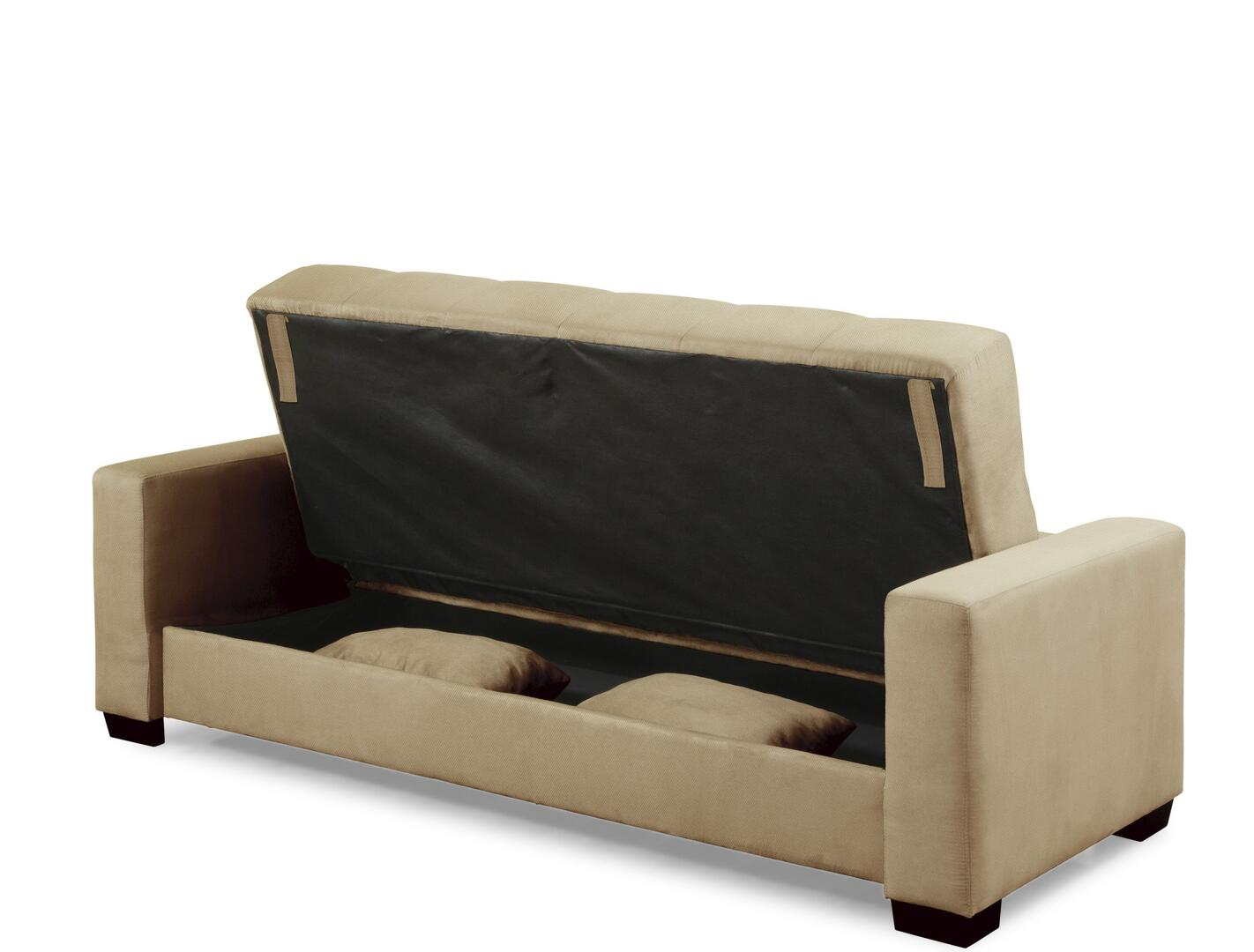 Lifestyle Solutions Casual Convertibles Napa Beech Storage Compartment Right Profile