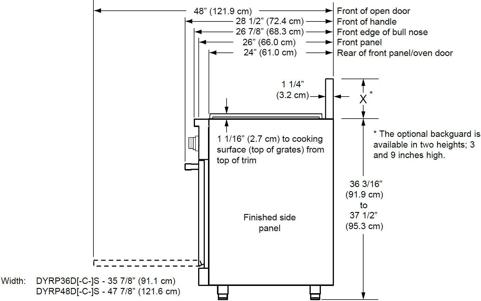 Dacor Dyrp36dslph 36 Inch Renaissance Series Stainless Steel Slide Wiring Diagram For Oven 5