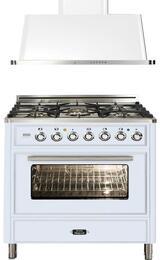 2-Piece True White Kitchen Package with UMT76DVGGB 30