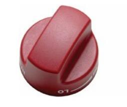 804369 Set of Knobs, in Red......