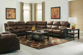 Henderson Collection 4355-1152-79/1300-79SEC 3 PC Sectional Sofa Set with Reclining Sofa + Loveseat + Wedge in Sunset Color