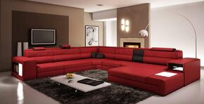VIG Furniture VGEV5022RED4C065