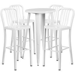 Flash Furniture CH51080BH430VRTWHGG