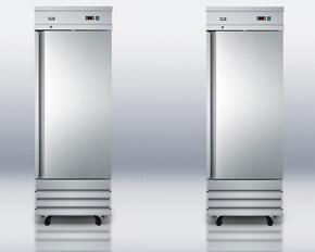 "2-Piece Stainless Steel Package with SCRR230 29"" All-Refrigerator and SCFF235 29"" All-Freezer"