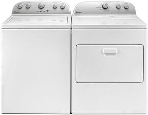 White Top Load Laundry Pair with WTW4816FW 28