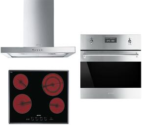 3-Piece Stainless Steel Kitchen Package with S2641TCU 24