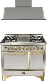 2-Piece Stainless Steel Kitchen Package with UMCD100FDMPI 40