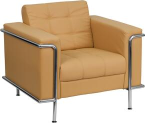 Flash Furniture ZBLESLEY8090CHAIRBRNGG