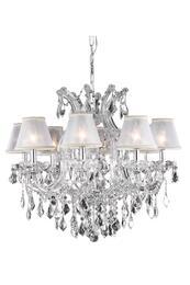 Elegant Lighting 2800D26CRC+SH1R6S