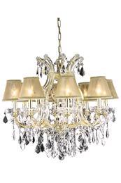 Elegant Lighting 2800D26GRC+SH1R6G