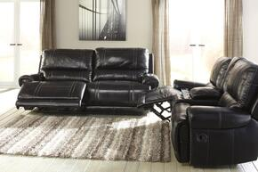Paron U75901NSL 2-Piece Living Room Set with 2-Seat Reclining Sofa and Double Reclining Loveseat in Antique