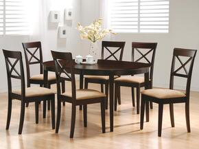 100770SET74 Mix & Match 5 Pc Dining Room Set by Coaster