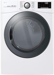 LG DLGX3901W 27 Inch Gas Dryer with 7 4 cu  ft  Capacity