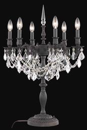 Elegant Lighting 9208FL24DB+SH1R6SEC