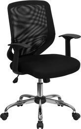 Flash Furniture LFW95MESHBKGG