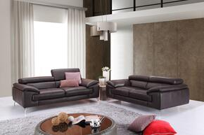 A973 Collection 179061111SL 2-Piece Living Room Set with Stationary Sofa, and Loveseat in Coffee