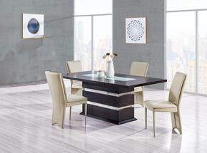 Global Furniture USA DG072DT4D6605DCTAUPE