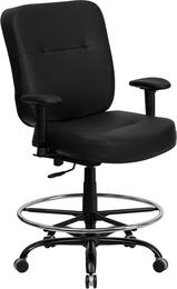 Flash Furniture WL735SYGBKLEAADGG