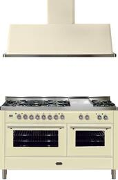 2-Piece Antique White Kitchen Package with UMT150FDMPA 60
