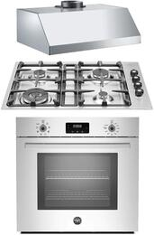 3-Piece Stainless Steel Kitchen Package with PROFS30XV 30