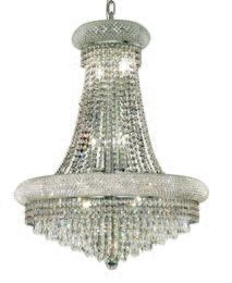 Elegant Lighting 1802D24CRC