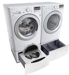 White Front Load Laundry Pair with WM3270CW 27