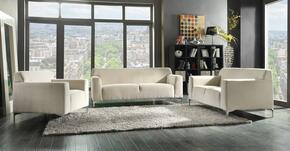 G332SET 3 PC Living Room Set with Sofa + Loveseat + Armchair in Beige Color