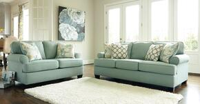 Daystar Collection 28200SL 2-Piece Living Room Set with Sofa and Loveseat in Seafoam