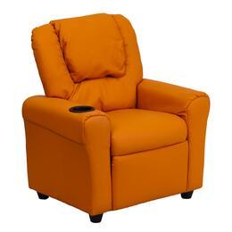 Flash Furniture DGULTKIDORANGEGG