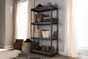 Wholesale Interiors BR10BLACKSHELF