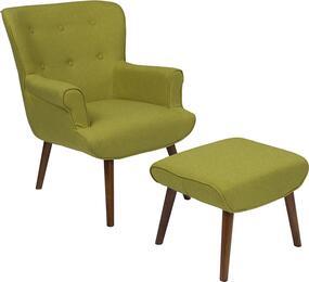 Flash Furniture QYB39COGRNGG