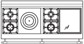 150 US K4 Cooktop Configuration w...