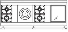 180 US N9 Cooktop Configuration w...
