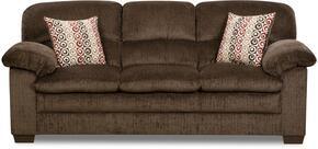 Simmons Upholstery 368403PLATOCHOCOLATE