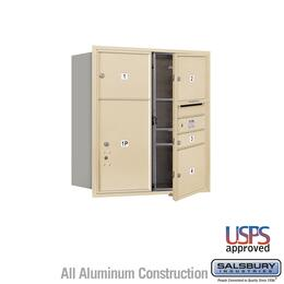 Salsbury Industries 3709D04SFU