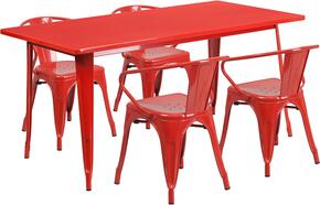 Flash Furniture ETCT005470REDGG