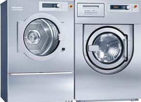 Front load Laundry Pair with PW6207S Steam Washer and PT8407E Electric Dryer