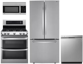 4 Piece Stainless Steel Kitchen Package With LDG4311ST 30