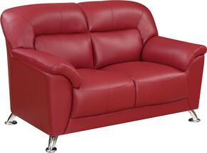 Global Furniture U9102REDLOVESEAT