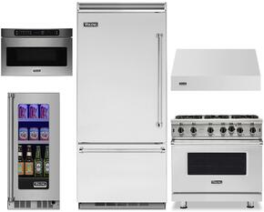 5-Piece Stainless Steel Kitchen Package with VCBB5363ELSS 36
