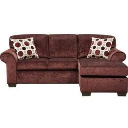 Flash Furniture 5303PRISMELDERBERRYSOFCHGG
