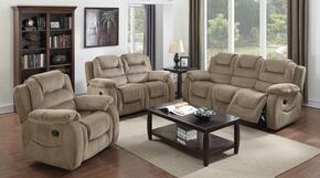 Aspen Collection SU-UZI460-3PC 3 Piece Reclining Living Room Set with Sofa + Loveseat + Chair