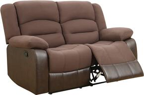 Global Furniture U98243D128CHOCOLATEPURLS
