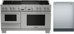 2-Piece Stainless Steel Kitchen Package With PRD606RESG 60