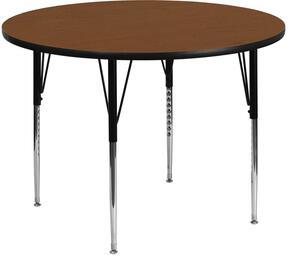 Flash Furniture XUA48RNDOAKHAGG