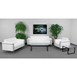 Flash Furniture ZBLESLEY8090SETWHGG