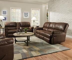 Renegade 50364BR-536319 3 Piece Set including  Beautyrest Motion Sofa, Loveseat and Recliner with  Stitched Detailing in Mocha